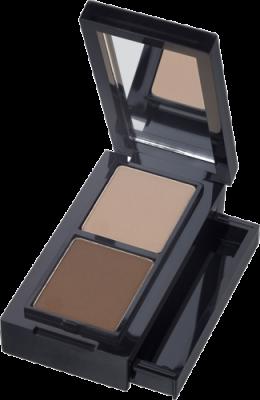 Компактный набор для моделирования формы бровей CATRICE Eye Brow Set 010 светло-коричневый, темно-коричневый: фото