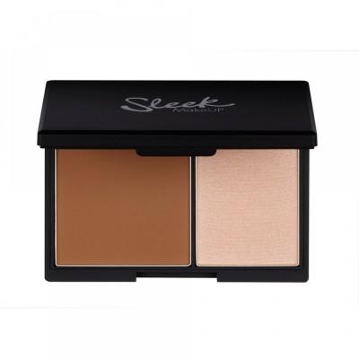 Палетка для структурирования лица Sleek MakeUp Face Contour Kit Light 884: фото