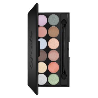 Палетка теней Sleek MakeUp Eyeshadow Palette I-Divine 12 тонов 809 Nordic Skies: фото
