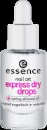 Верхнее покрытие для быстрого высыхания лака Express Dry Drops Essence: фото