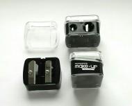 Точилка для косметических карандашей MAKE-UP-SECRET MUS двойная: фото