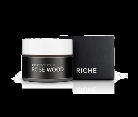 Выравнивающий скраб для лица Riche Cosmetic Розовое дерево хит 50гр: фото
