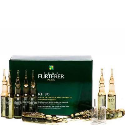 Комплекс от выпадения волос Rene Furterer Rf 80 atp energie 12 ампул: фото