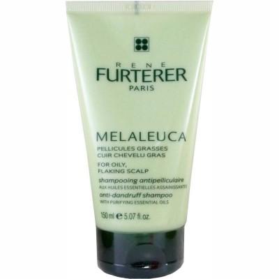 Отшелушивающий шампунь для жирной кожи с перхотью Rene Furterer Melaleuca 150 мл: фото