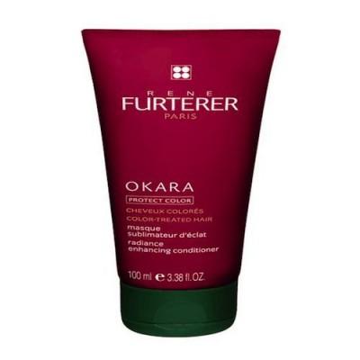 Маска восстанавливающая защитная для окрашенных волос Rene Furterer Okara 100 мл: фото