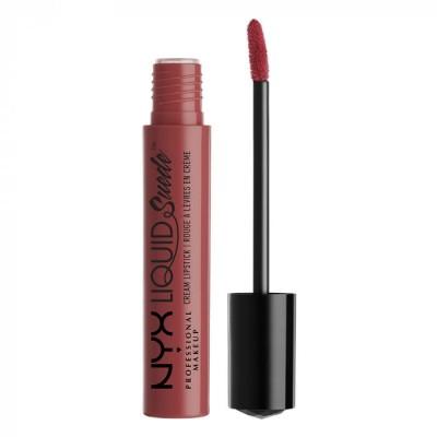 Жидкая помада NYX Professional Makeup Liquid Suede Cream Lipstick SOFT-SPOKEN 04: фото