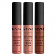 Набор помад NYX Professional Makeup Soft Matte Lip Cream - Set 13: фото