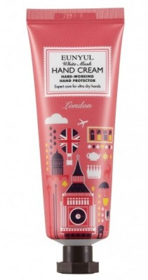 Крем для рук с белым мускусом Лондон EUNYUL White musk hand cream 50г: фото