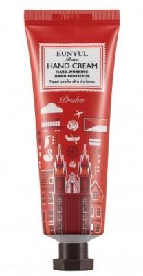 Крем для рук с экстрактом розы Прага EUNYUL Rose hand cream 50 г: фото