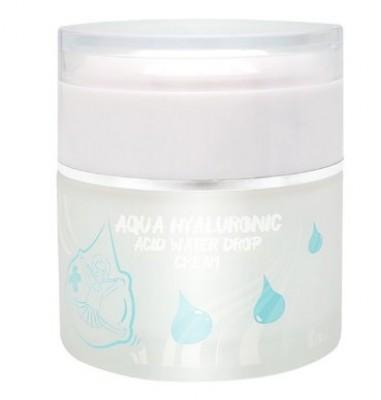 Крем с гиалуроновой кислотой ELIZAVECCA Aqua Hyaluronic Acid Water Drop Cream: фото