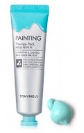 Маска для лица с глиной TONY MOLY Painting therapy pack hydrating&calming 30 мл: фото
