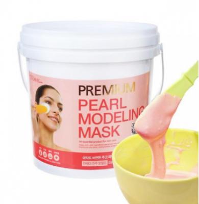 Альгинатная маска с жемчугом LINDSAY Premium pearl modeling mask pack 820 гр.: фото
