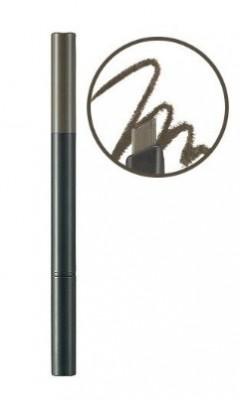 Карандаш для бровей THE FACE SHOP Designing eyebrow pencil 02 Gray brown 3г: фото
