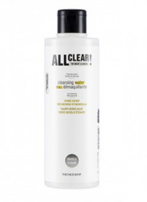 Мицеллярная вода THE FACE SHOP All clear cleansing water 250 мл: фото