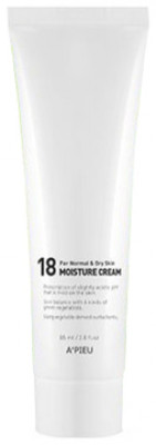 Крем для молодой нормальной и сухой кожи A'PIEU 18 Moisture Cream For Normal&Dry Skin: фото