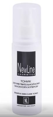 Тоник для чувствительной кожи, склонной к куперозу NEW LINE 100мл: фото