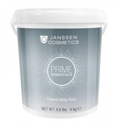 Обертывание саморазогревающее антицеллюлитное с водорослями Janssen Cosmetics Prime essentials Thermo Body Pack 4 кг: фото