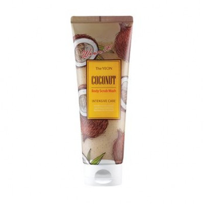 Скраб для тела с маслом кокоса TheYEON Coconut Body Scrub Wash [Intensive Care] 250мл: фото