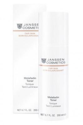 Тоник осветляющий Janssen Cosmetics Melafadin Toner 200мл: фото