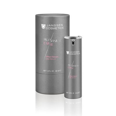 Сыворотка реструктурирующая с коллоидной платиной Janssen Cosmetics Effect Serum 30мл: фото