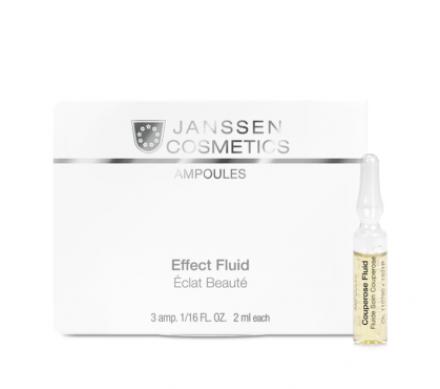 Концентрат ампульный Антикупероз Janssen Cosmetics Couperose Fluid 2мл*3шт: фото