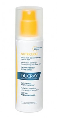 Спрей защитный для сухих волос Ducray Nutricerat anti-dryness protection spray 75мл: фото