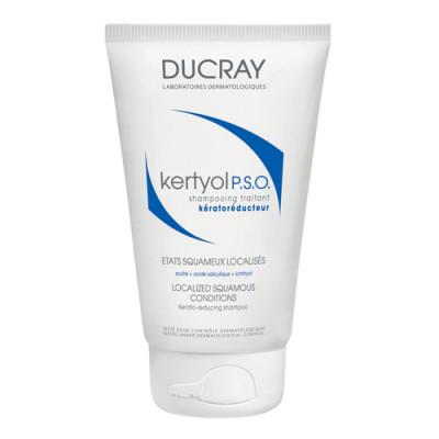 Шампунь уменьшающий шелушение кожи головы Ducray Kertyol P.S.O. 125 мл: фото