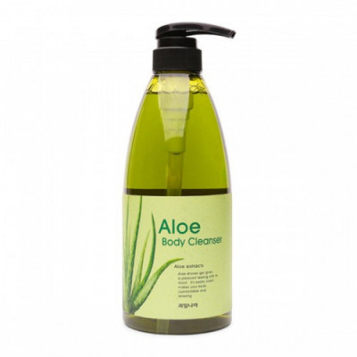 Гель для душа алоэ Welcos Kwailnara Aloe Body Cleanser 740г: фото
