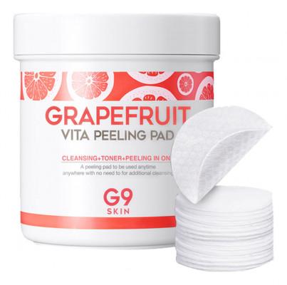 Ватные диски для очищения кожи Berrisom G9 SKIN Grapefruit Vita Peeling Pad 200г: фото