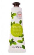 Крем-гель для рук парфюмированый THE SAEM Perfumed Hand Clean Gel Pure Green tea 30мл: фото