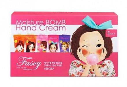 Крем для рук набор FASCY Moisture Bomb Hand Cream set 80мл*10: фото