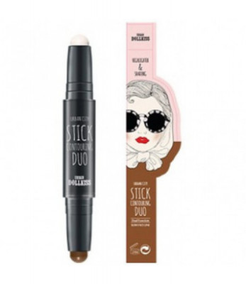 Контурный стик Baviphat Urban Dollkiss Urban City Stick Contouring Duo 1,7гр*2: фото