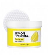 Пилинг-диски для лица SECRET KEY Lemon Sparkling Peeling Pad 70шт: фото