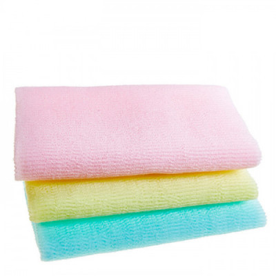 Мочалка для душа Sungbo Cleamy 28х95 ROLL WAVE SHOWER TOWEL 1шт: фото