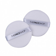 Спонж для нанесения макияжа The Face Shop Daily beauty tools face it NBR round sponge, 2 шт.: фото