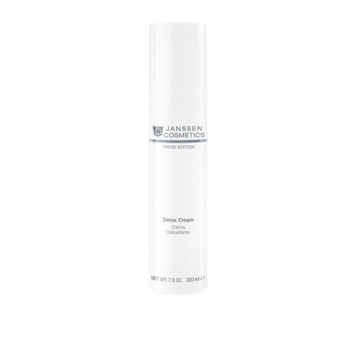 Крем-детокс антиоксидантный Janssen Cosmetics SKIN DETOX CREAM 200 мл: фото