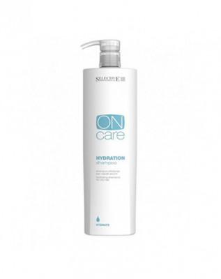 Шампунь увлажняющий для сухих волос SELECTIVE Professional Hydration shampoo 1000мл: фото