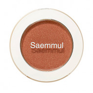 Тени для век мерцающие The Saem Saemmul Single Shadow Shimmer BR18 Candy Brown 2гр: фото