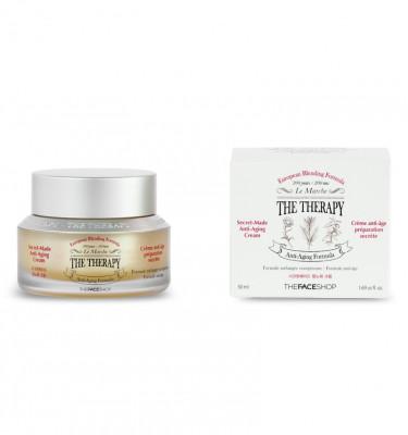 Крем лечебный антивозрастной для лица The Face Shop The Therapy Secret Made Anti-Aging Cream 50 мл: фото