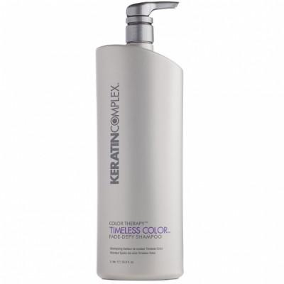 Шампунь для поддержания яркости цвета Keratin Complex Timeless Color Fade-Defy Shampoo 946мл: фото