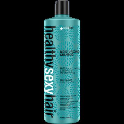Шампунь увлажняющий Sexy Hair Moisturizing Shampoo 1000мл: фото