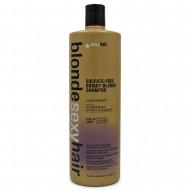 Шампунь корректирующий сияющий Блонд SEXY HAIR Bright Blonde Shampoo 1000мл: фото