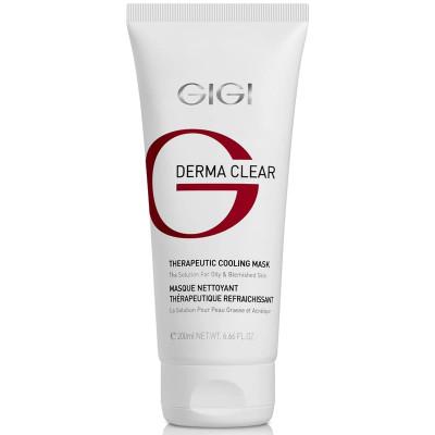 Маска терапевтическая охлаждающая GiGi DERMA CLEAR Cooling Mask 200 мл: фото