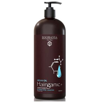 Кондиционер с маслом Арганы для питания сухих, окрашенных волос Egomania Hairganic+ 1000 мл: фото