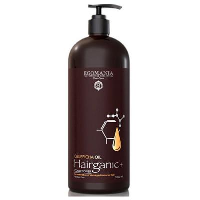 Кондиционер с маслом Облепихи для восстановления повреждённых, окрашенных волос Egomania Hairganic+ 1000 мл: фото