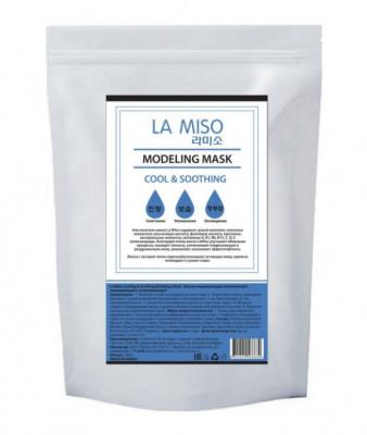 Маска альгинатная с мятой для уставшей кожи LA MISO Cooling & Soothing Modeling Mask 1000 г: фото