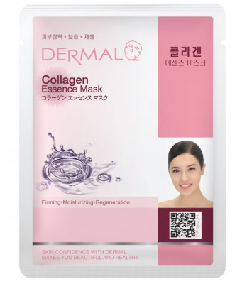 Тканевая маска коллаген Dermal Collagen Essence Mask 23 мл: фото