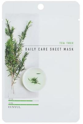 Набор тканевых масок с экстрактом чайного дерева EUNYUL TEA TREE DAILY CARE SHEET MASK 22г*3шт: фото