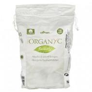 Ватные шарики из органического хлопка Organyc, female hygiene, 100шт,: фото