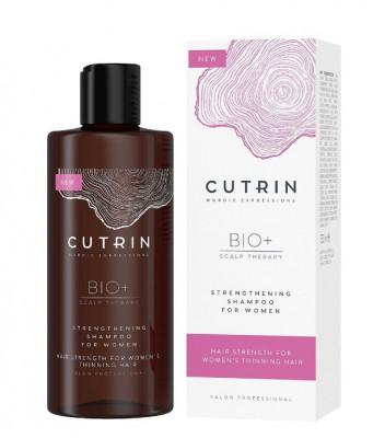 Шампунь-бустер для укрепления волос у женщин CUTRIN BIO+ STRENGTHENING 250мл: фото